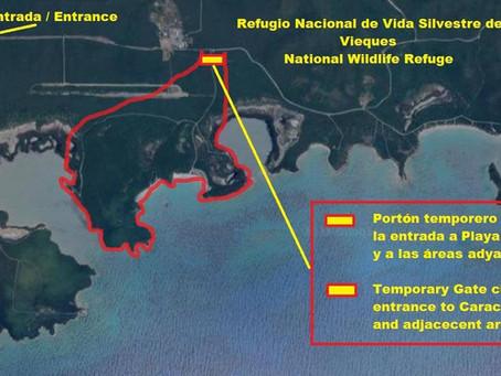 Feb - APR 2021 Caracas Beach closure