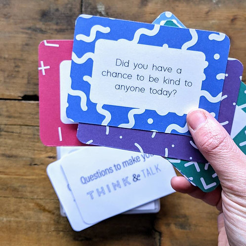 30 Family Question Cards To Make You Think And Talk
