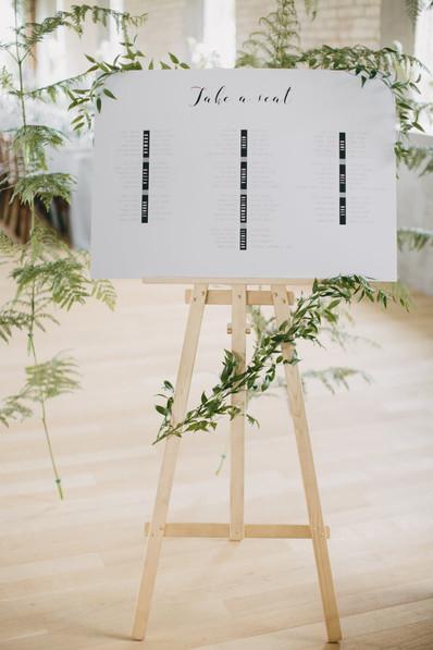 Bespoke table plan
