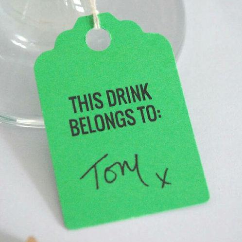 Ten Drinks Tags