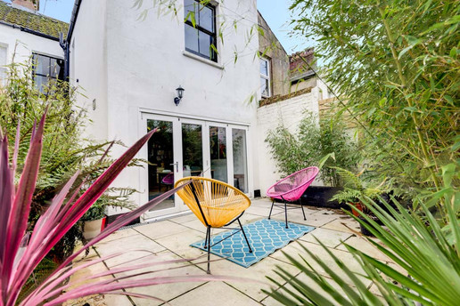 Courtyard in Worthing, West Sussex