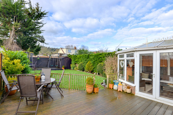 decking area property in worthing