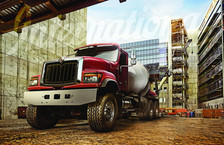 International HX Concrete Truck