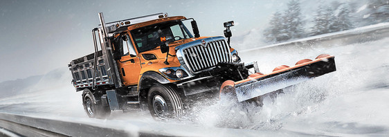International Plow Truck