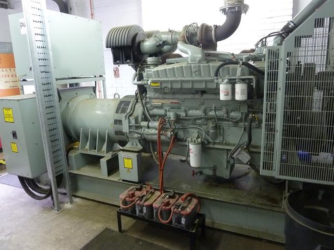 Wilson & Proctor Ltd. Cummins Onan Generator