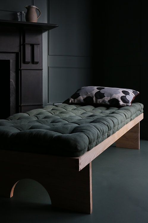 Languid knows daybed and sprung cushion, made in wales