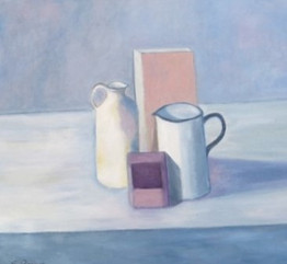 Jugs and Shapes - Pastels