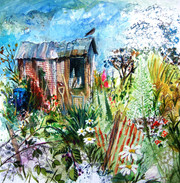 The Allotment Shed - Collage
