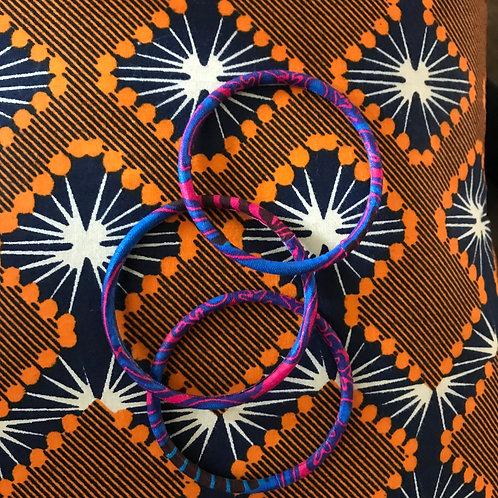 Lot de 3 bracelets Wax (grands)