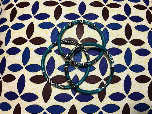 Lot de 3 bracelets Wax (petits)