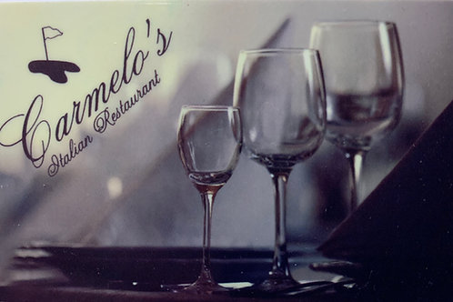 Gift Card - Wine Glasses