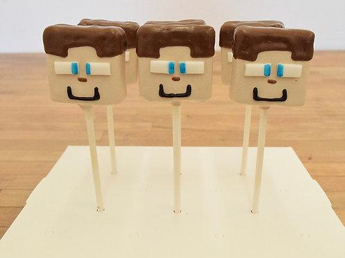 Minecraft Cake Pops.Los Angeles Bakery, Sherman Oaks