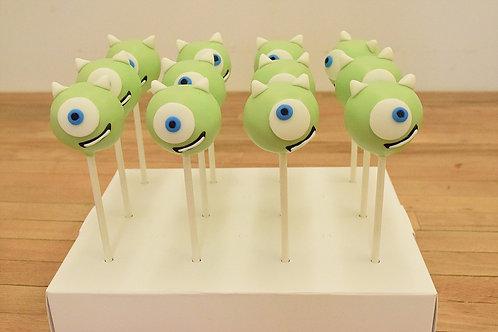 Monsters Inc Cake Pops , Los Angeles Bakery, Sherman Oaks Bakery