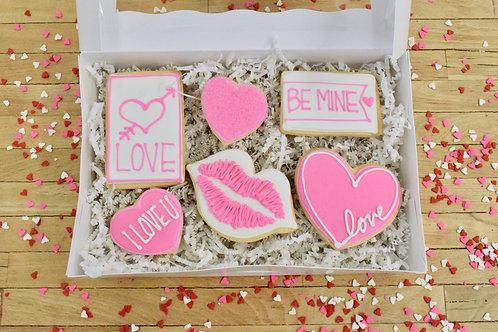 Valentines Day Cookies, Gift Box, Los Angeles Bakery, Sherman Oaks Bakery