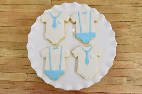 Baby Shower Cookies, Baby Boy Shower,  Los Angeles Bakery, Sherman Oaks
