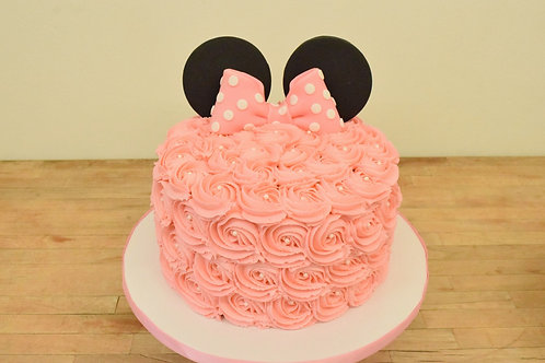 Minnie Mouse Cake Los Angeles Bakery