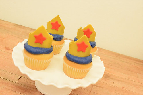 Wonder Woman Cupcakes  Los Angeles Bakery Sherman Oaks