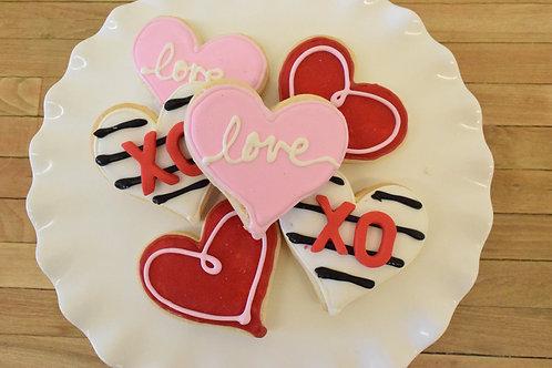 Valentines Day Cookies, Los Angeles Bakery, Sherman Oaks Bakery