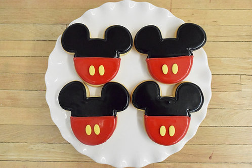 Mickey Cake Cookies, Mickey Mouse, Los Angeles Bakery, Sherman Oaks Bakery