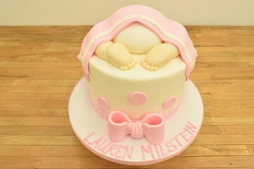 Baby Bum Girl Cake
