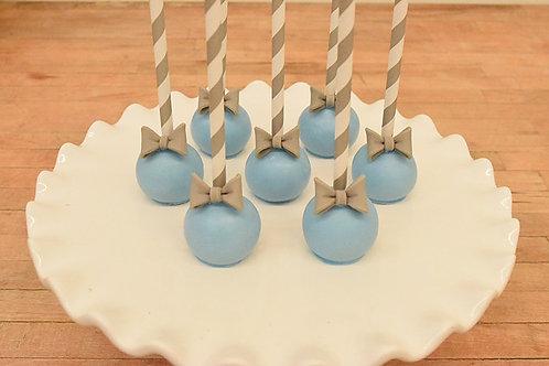 Bow Tie Cake Pops (6)