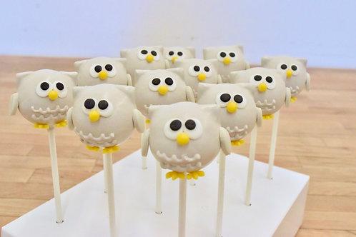 6 Owl CakePops