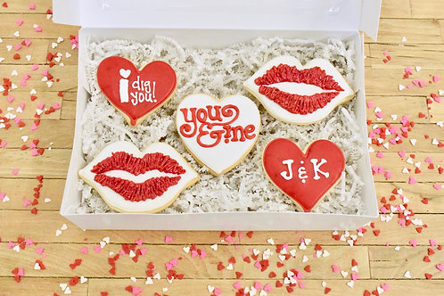 Valentines Day Cookies, Gift Box, Los Angeles Bakery, Sherman Oaks Bakery