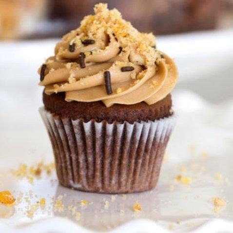 Haleznut Mocha Cupcake