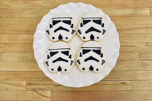 Storm Trooper Cookies, Star Wars Cookies, Los Angeles Bakery, Sherman Oaks