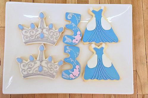 Princess Cookies, Cinderella, Birthday, Los Angeles Bakery, Sherman Oaks Bakery