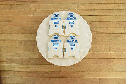 R2D2 Cookies, Star Wars Cookies, Los Angeles Bakery, Sherman Oaks