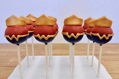 Wonder Woman Cake Pops  Los Angeles Bakery Sherman Oaks