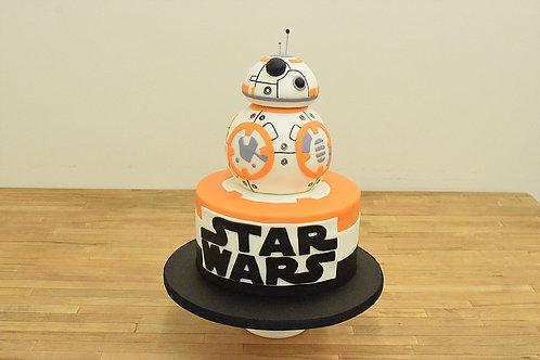 BB-8 Cake, Star Wars Cake,Los Angeles Bakery, Sherman Oaks