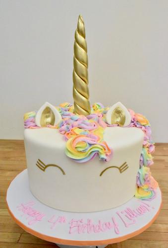 Unicorn Cake Birthday Rainbow Los Angeles Bakery