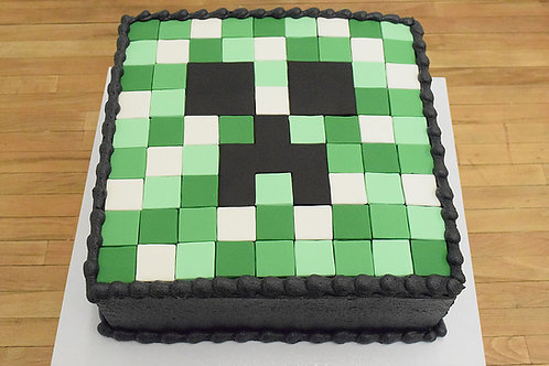 Minecraft Cake, Custom Cake, Birthday Cake, Los Angeles Bakery, Sherman Oaks
