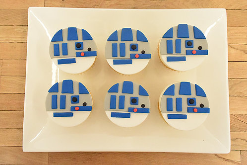 R2D2 Cupcakes, Star Wars Cupcakes, Los Angeles Bakery, Sherman Oaks