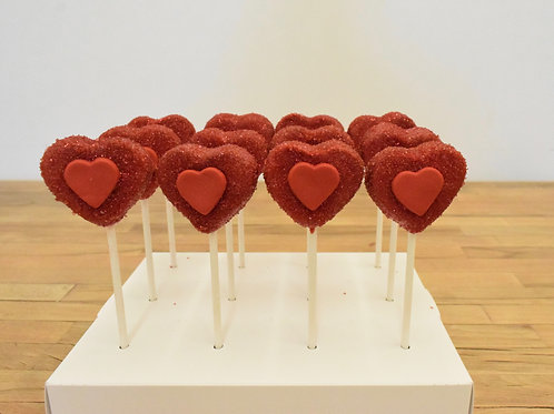 Valentines Day Cakes Pops, Los Angeles Bakery, Sherman Oaks Bakery