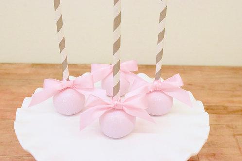Girly Cake Pops, Baby Girl Shower Cake Pops, Baby Shower Cake Pops, Los Angeles Bakery, Sherman Oaks