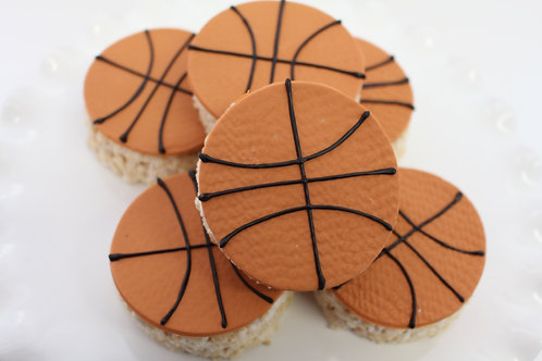 6 Basketball Rice Krispies