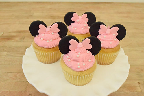 Minnie Mouse Cupcakes Los Angeles Bakery