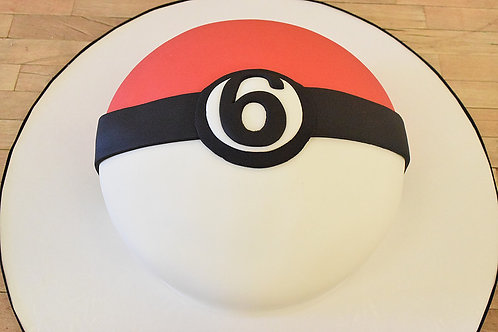 Pokemon Cake, Pokeball Cake, Los Angeles Bakery, Sherman Oaks