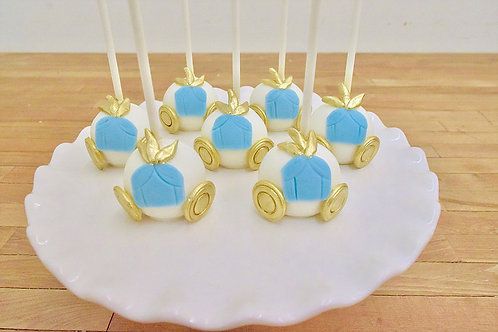 Princess Cake Pops, Cinderella Cake Pops, Birthday, Los Angeles Bakery, Sherman Oaks Bakery