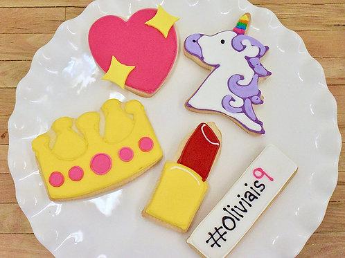 Emoji Cookies , Birthday, Los Angeles Bakery, Sherman Oaks, Bakery