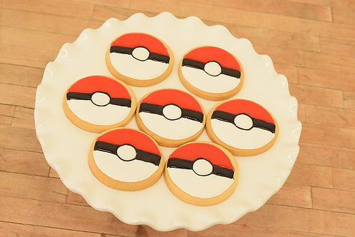 Pokemon Cookies, Pokeball Cookies, Los Angeles Bakery, Sherman Oaks