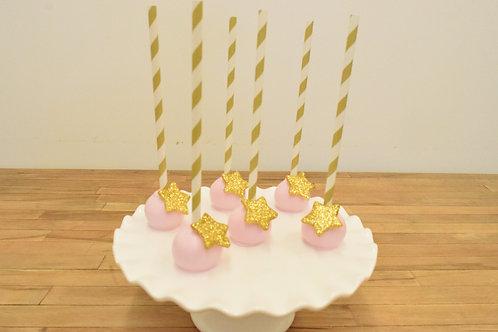 Twinkle Little Star Cake Pops, Baby Shower Cake Pops  Los Angeles Bakery, Sherman Oaks Bakery