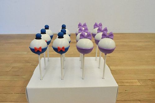 Mickey Cake Pops, Mickey Mouse, Los Angeles Bakery, Sherman Oaks Bakery