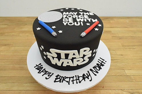 Star Wars Cake, Los Angeles Bakery, Sherman Oaks