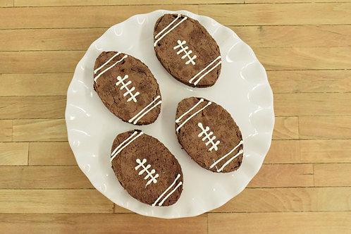 Football cupcakes, sport cupcakes, Los Angeles Bakery. Sherman Oaks, Bakery