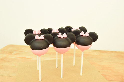 Minnie Mouse Cake Pops Los Angeles