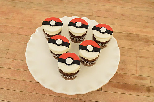Pokemon Cupcake, Pokemon, Los Angeles Bakery, Sherman Oaks